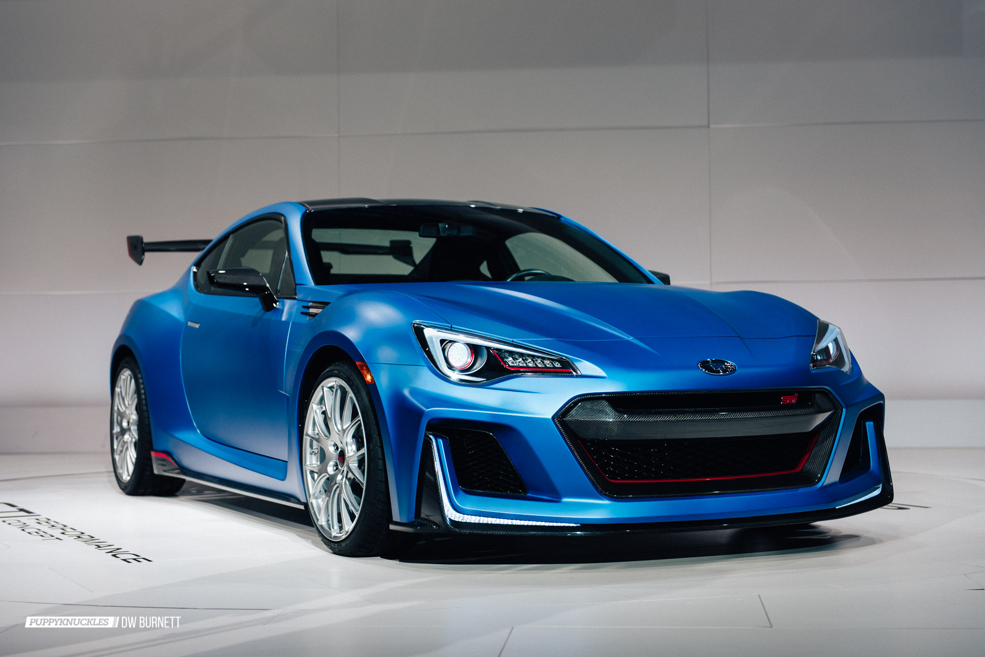 the subaru brz sti performance concept is a little monster puppyknuckles. Black Bedroom Furniture Sets. Home Design Ideas